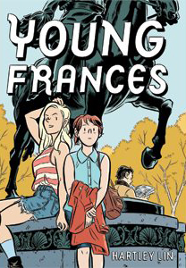 Hartley Lin makes his  debut as graphic artist  with Young Frances