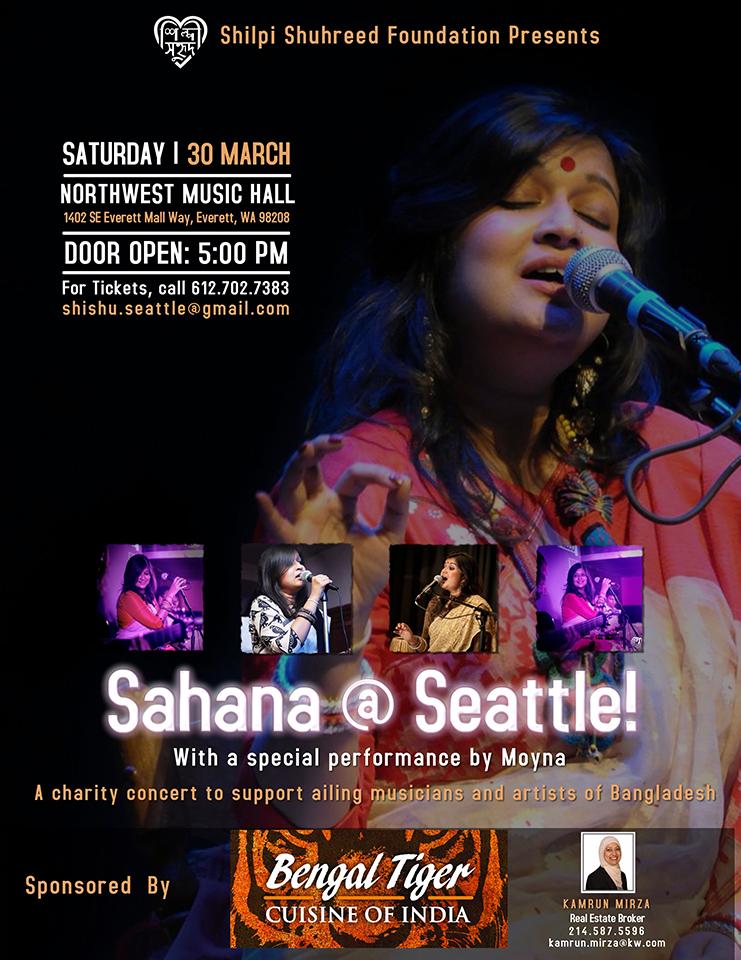 Sahana Bajpaie brings Bengali music to Seattle   International Examiner
