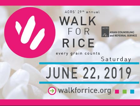 Walk for Rice - Liza Javier