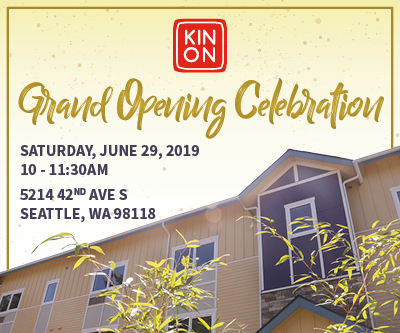 Kin On Grand Opening - Lillian Young
