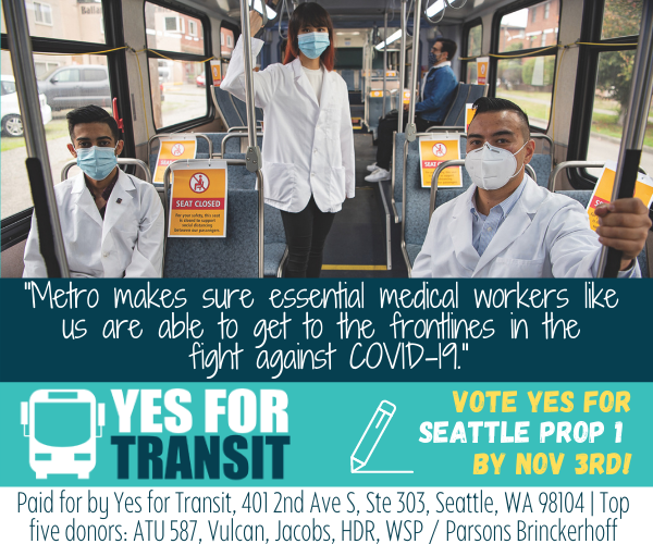 Yes for Seattle Transit - Michael Fertakis